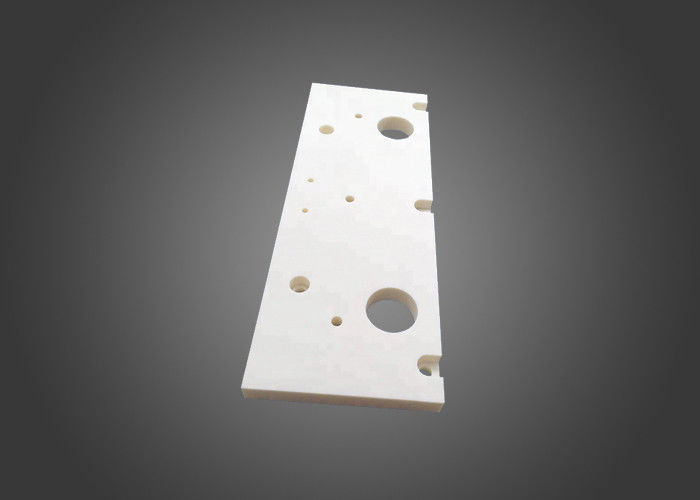 Zta Zirconia Toughened Alumina , Machine Perforated Tool Alumina Ceramic Components Mechanical Boards